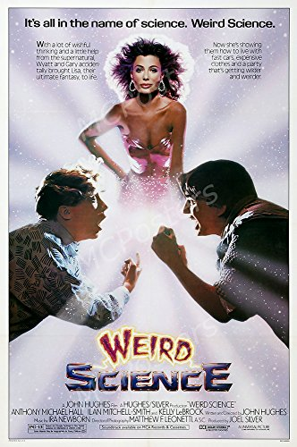 MCPosters Weird Science GLOSSY FINISH Movie Poster - MCP286 (24' x 36' (61cm x 91.5cm))