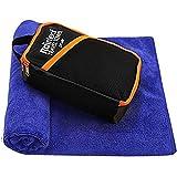 Rainleaf Microfiber Bath Towel Quick Dry Bath Swimming...