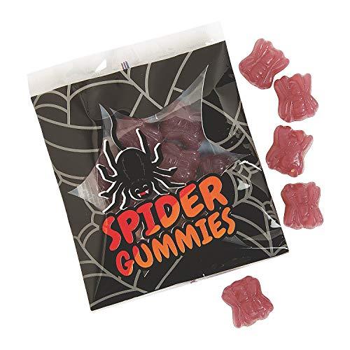 Spider Gummies Candy (24 pack) Bulk Halloween Candies