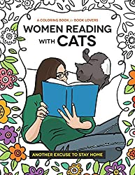 Women Reading with Cats