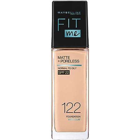 MAYBELLINE(メイベリン) フィットミー リキッド ファンデーション R 122 標準的な肌色(ピンク系) 30ミリリットル (x 1)