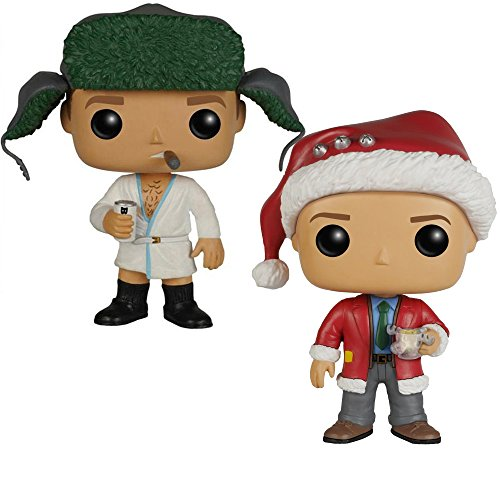 FunKo POP Movies: Christmas Vacation - Clark Toy, Cousin Eddie Figures Set of 2