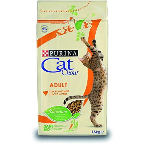 Purina Cat Chow Naturium Adult con pollo kg.1.5 ✅