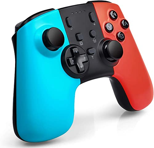 GTRACING Switch Pro Controller Wireless for Nintendo SwitchLite Console Replace Joycon Remote Gamepad with Joystick Turbo Dual Vibration