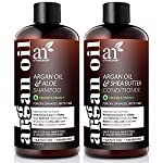 artnaturals Moroccan Argan Oil Shampoo and Conditioner Set - (2 x 16 Fl Oz / 473ml) - Volumizing & Moisturizing - Gentle… 2