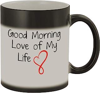 Good Morning Love of My Life #169 - Funny Humor Ceramic 11oz Color Changing Coffee Mug Cup