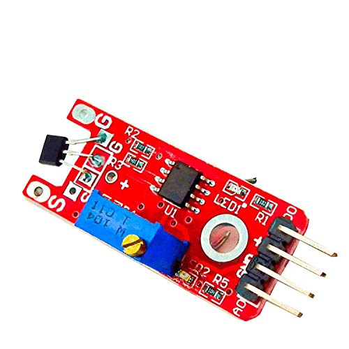 AZDelivery KY-024 Linear Magnetic Hall Effect Sensor Module for Arduino including eBook