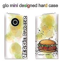 glo mini用ハードケース【ANA-Lyn】ファストフード フィッシュバーガー 完全国内受注生産品 glo mini オリジナル グローミニカバー ケース