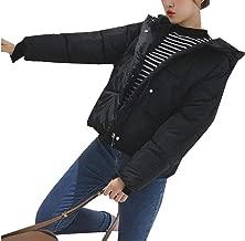 Zimaes-Men Hood Full Zip Fur Collar Brumal Fleece Lined Thickened Jacket