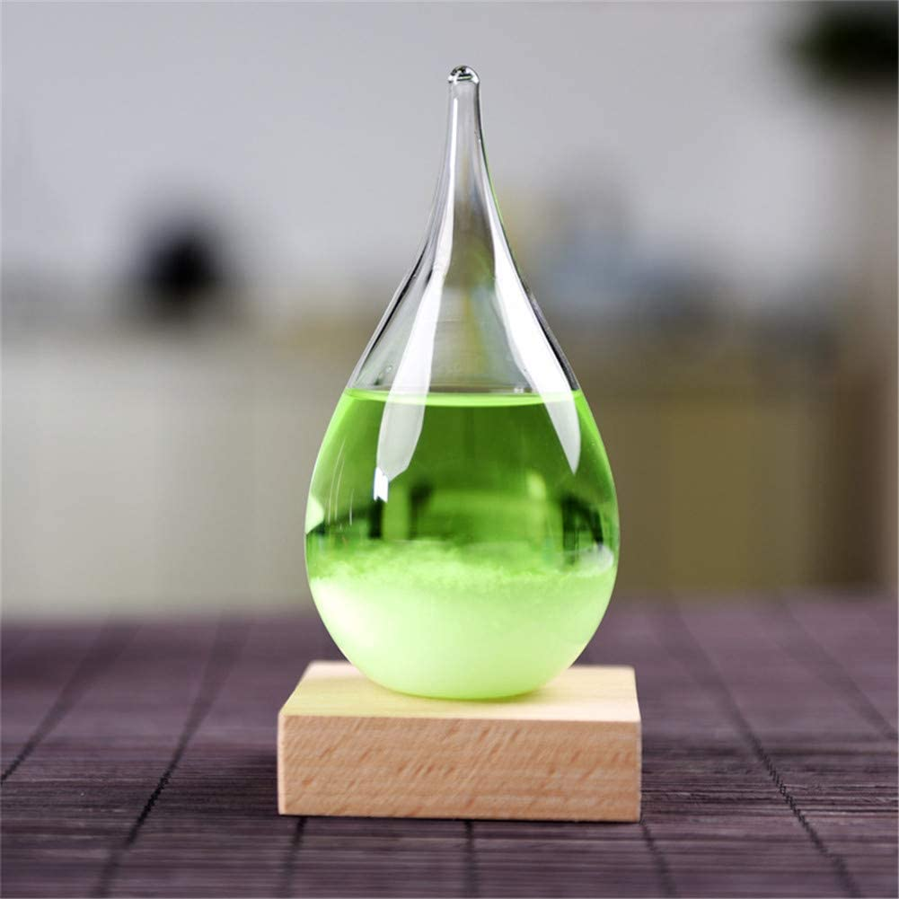 Joint Gou Storm Glass Weather Max 49% OFF Predictor Stylish Creative Weathe Price reduction