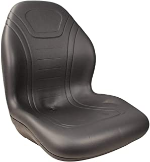 Stens - 420-300 High Back Seat, John Deere AM138195, ea, 1, Black