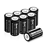BONAI Rechargeable C Batteries 5,000mAh 1.2V Ni-MH High Capacity High Rate C Size Battery C Cell Rechargeable Batteries (8 Pack)