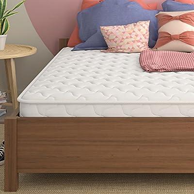 "Signature Sleep 6"" Hybrid Coil Mattress, Full, White"