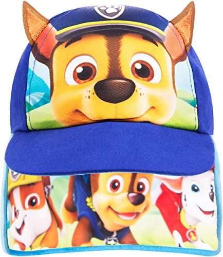 Paw Patrol Kappe Jungen Kinder Safari Sommer Hut Baseball Kappe Alter 1 bis 6 Jahre (1-3 Jahre, Blau)