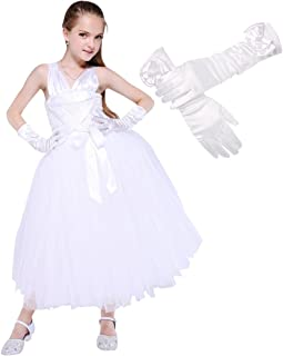 Girls Marilyn Monroe Dress Costumes Halloween Role Play Outfits