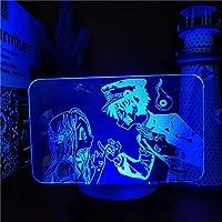 地縛少年花子くん3Dアニメランプやひろねねピンキープロミスフィギュア常夜灯色お誕生日プレゼント用照明-接する