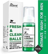True Derma Essentials Fresh and Clean Balls Hygiene Intimate Foam Wash for Men-150 ml