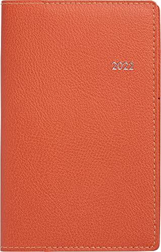 高橋 手帳 2022年 ウィークリー ティーズビュー 6 オレンジ No.333 (2021年 12月始まり)