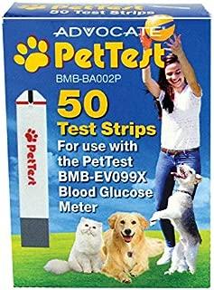 PetTest Advocate Monitoring Glucose Levels - Diabetes Testing Tools - Calibrated for Pets - Bonus eOutletDeals Pet Towel