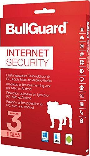 BullGuard Internet Security 2017 1 Jahr/3 Geräte (Win, MAC, Android)