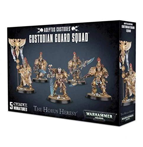 Games Workshop Warhammer 40k Custodian Guard Squad