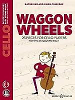 Waggon Wheels: 26 pieces for cello players. Violoncello und Klavier. Ausgabe mit Online-Audiodatei.