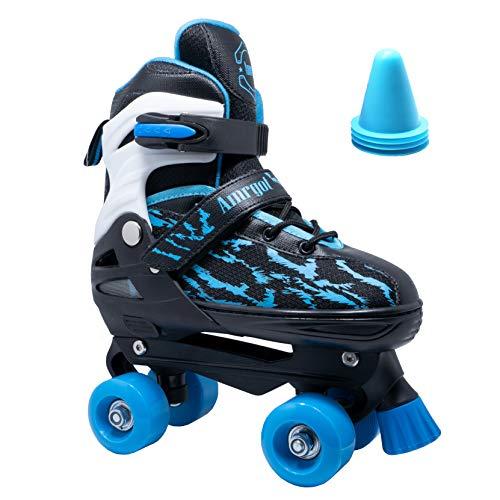 WiiSHAM Best Roller Skates for 6 Year Old Kids