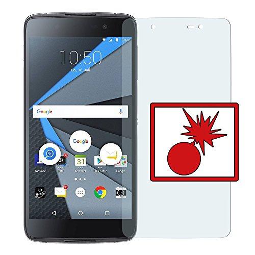 Slabo 2 x Panzerschutzfolie für BlackBerry DTEK50 Panzerfolie Bildschirmschutzfolie Schutzfolie Folie Shockproof KLAR