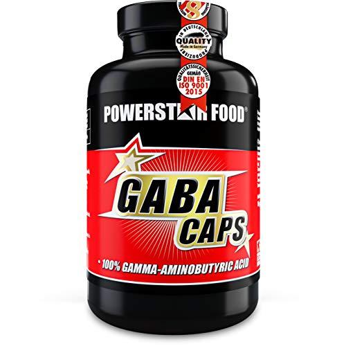 GABA CAPS | Hochdosiert | 750mg Gamma-Aminobuttersäure pro Kapsel | Ohne Magnesiumstearat & Farbstoff | Vegan | 2-Monatsvorrat | 120 Kapseln | Deutsche Herstellung nach IFS