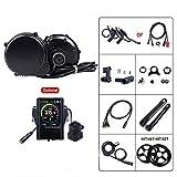 SPORTS 36V 500W Mediados Drive Motor Bike Kits de conversión de Bicicletas eléctricas de Motor Apto para el tamaño de 68mm-73mm Central del Motor