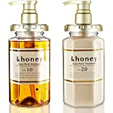 &honey Shampoo & Conditioner Set Organic Hair and Scalp Care for Intense Cleansing and Hydration - Moisture-Enhancing Wash and Protection - Ideal for Straight, Curly, Curl, Kinky, Frizzy, Treated, Col