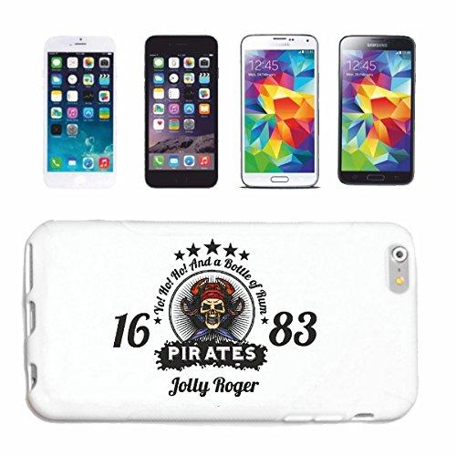 Reifen-Markt Hard Cover - Funda para teléfono móvil Compatible con Samsung Galaxy S7 Edge Una Botella de Ron CRÁNEO del Pirata CORSARIO CORSARIO del Pirata Cráneo