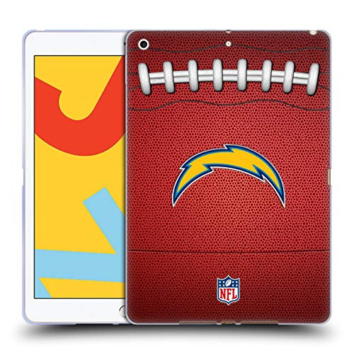 Official NFL Football 2018/19 Los Angeles Chargers Soft Gel Case Compatible for Apple iPad 10.2 (2019)/(2020)