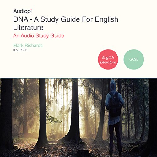 DNA - A Study Guide for GCSE English Literature audiobook cover art