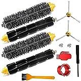 LYDPT Accesorios de aspiradora Parte de reemplazo para 600 700 Series 770 760 650 790 Piezas de Limpiador robótico Pincel de batidor Flexible