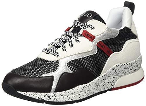 Liu Jo Shoes Damen Karlie 35 Sneaker, Schwarz (Black 22222), 36 EU