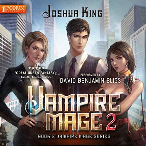 Vampire Mage, Book 2 audiobook cover art