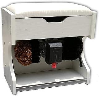 Pulidor de zapatos QFFL Máquina limpiabotas automático Máquina, Máquina Lustradora de Zapatos Automática Caja de Almacenamiento (5 Colores Son Opcionales) Cepillo de limpiez