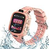 9Tong wasserdichte Kamera Kids Smart Watch Touchscreen GPS Kid Tracker Uhr SOS Anti-Lost Child Watch Phone für iOS und Andriod Smartphone