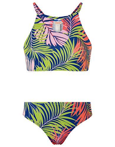 Monsoon Kids Storm Palm Print Bikini with Recycled Polyester Girls Size...