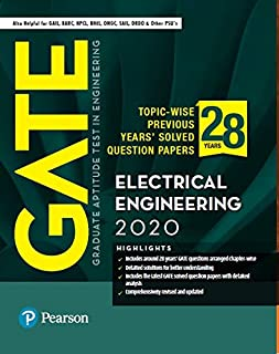 GATE Topic-wise Previous Years' Solved Question Papers Electrical Engineering