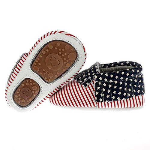 So Sydney Girls Boys Crochet Pumpkin Fall Shoes Baby Infant Boots Crib Shoe (S (NB-3 Months), Pumpkin)