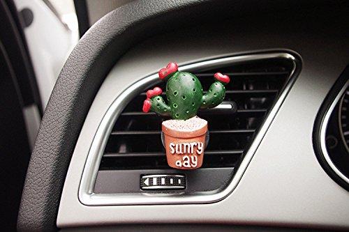 Wination Clip de perfume de ventilación de aire para coche con forma de clip de perfume para coche