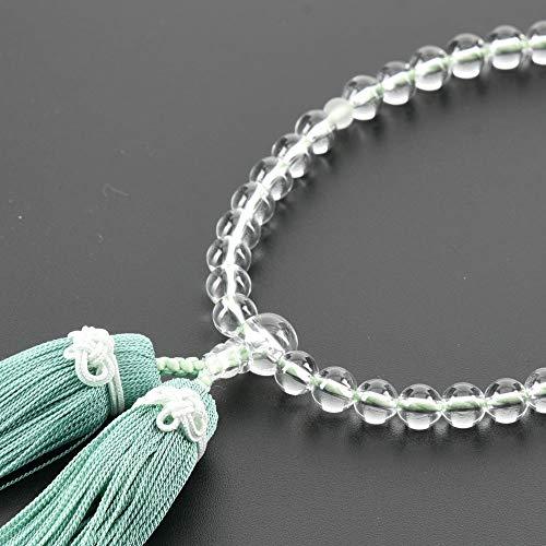 【お仏壇のはせがわ】 数珠 結念珠(むすびねんじゅ) 叶房 セイジ 日本製 じゅず どの宗派でも使用可能 女性用