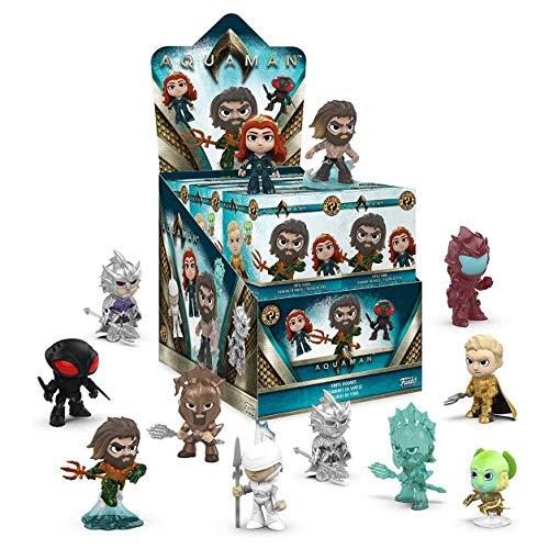 Funko Mystery Mini Aquaman, Figura de Vinil, Multicolor, 31190 - 1 Figura al Azar , color/modelo surtido