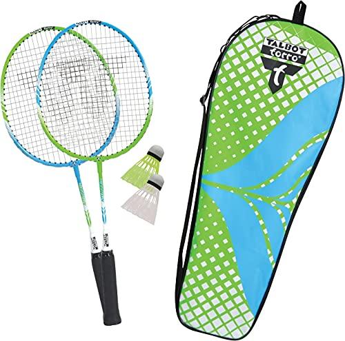 Talbot-Torro Badminton-Set 2-Attacker Junior, Kids Badminton Set, 2...