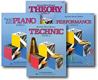 Bastien Piano Basics Level 2 - Learn to Play Four Book Set -