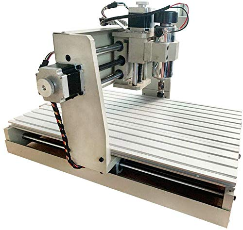 CNCEST CNC 3040T 4 Axis Router Engraver Engraving Drilling Milling Machine Desktop & Power Metal Wood Carving Cutter Acrylic Diy Artwork(USB Interface Is Not Supported, Cannot Use Converter)