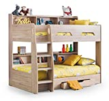 Julian Bowen Orion Bunk Bed, Sonoma Oak, Single