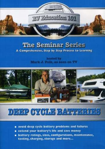 Deep Cycle Batteries for Boats & Rv's: Avoid Deep [DVD] [Import]